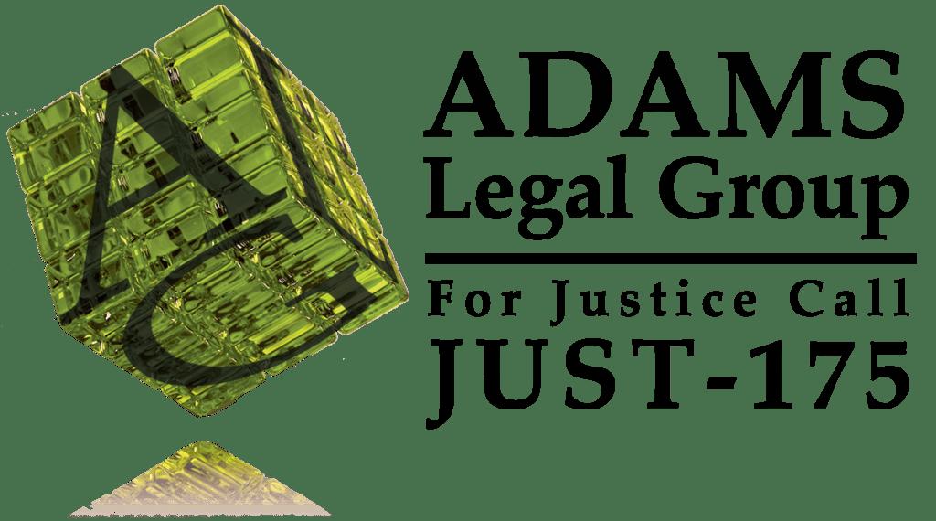 Adams Legal Group Logo w/ ad